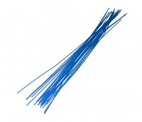 Profilwachs, 0,6mm, blau, medium hart