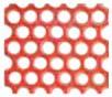 Netzretention Wabe, rot