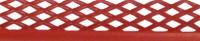 Netzretention mit Abschluss OK, rot