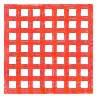 Netzretention Gitter, rot